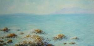 Škoji, 2011., ulje na platnu, 40x80 cm