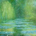 Giverny (Sjećanje na Moneta), 2009. ulje na platnu, 70x100 cm