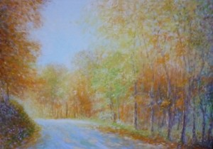 Jesen na Kipišću, 2008., ulje na platnu, 70x100 cm