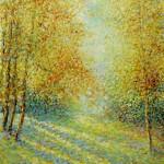 Listopadska svečanost, 1981., ulje na platnu, 73x60 cm
