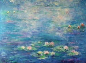 Lopoči, 1996., ulje na platnu, 60x81 cm