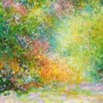 Proljetna čarolija, 1996., ulje na platnu, 35x30 cm