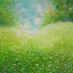 Sjaj u travi, 1998., ulje na platnu, 73x60 cm