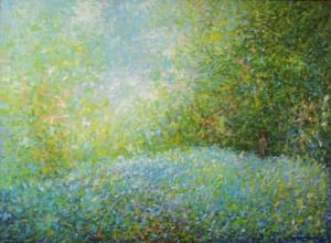 Dan nadanja, 1991., ulje na platnu, 73x100 cm