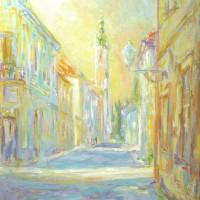 Uršulinska, 1985., ulje na platnu, 65x55 cm